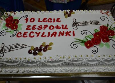 """10-lecie zespołu """"Cecylianki"""""""