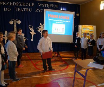 W Szkole Podstawowej w Dunowie pamiętamy o prawach wszystkich dzieci